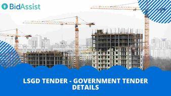 LSGD tender - Government Tender Details